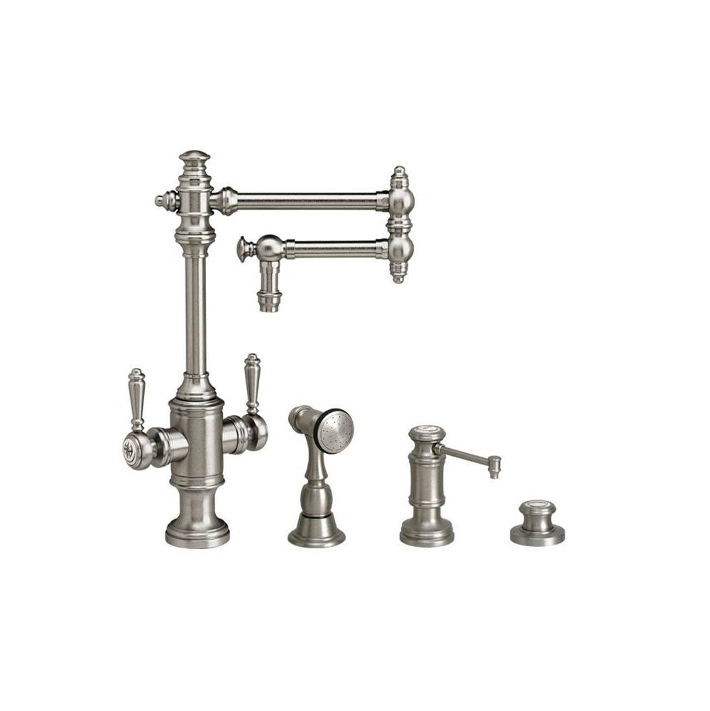 Waterstone Single Hole Kitchen Faucets item 8010-12-3-PN