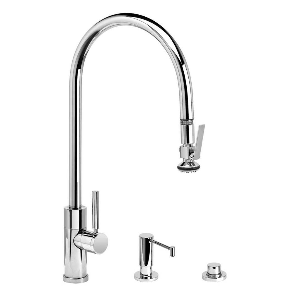 Waterstone Pull Down Faucet Kitchen Faucets item 9750-3-BLN